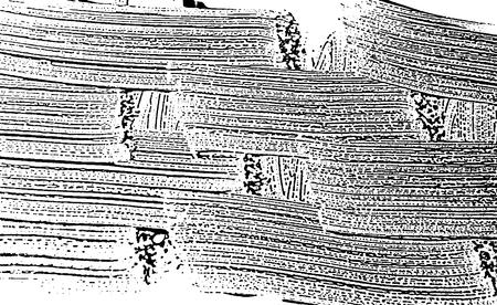 Grunge soap texture invert. Distress black and white rough foam trace wondrous background. Noise dirty rectangle grunge foam texture. Dirty artistic soap background. Vector illustration.