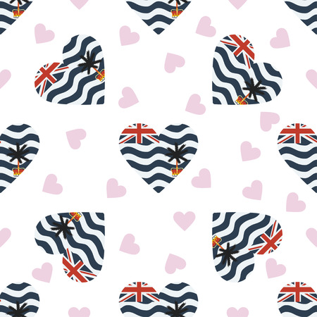 British Indian Ocean independence day pattern.