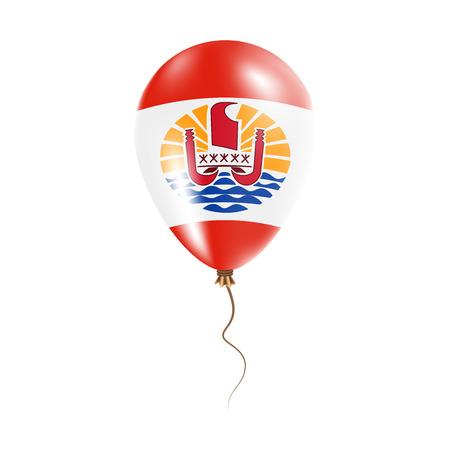 French Polynesia balloon Illustration