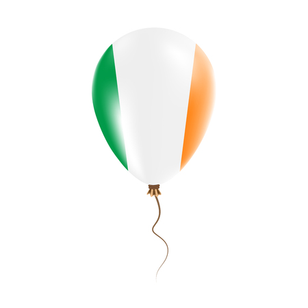 Ireland balloon design Illustration