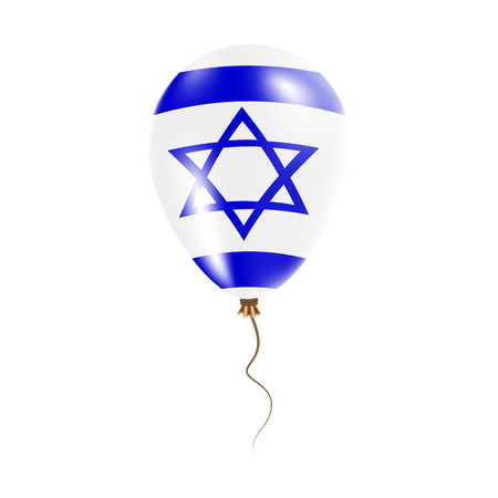 Israel balloon with flag