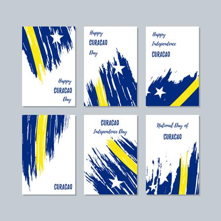 Curacao Patriotic greeting cards.