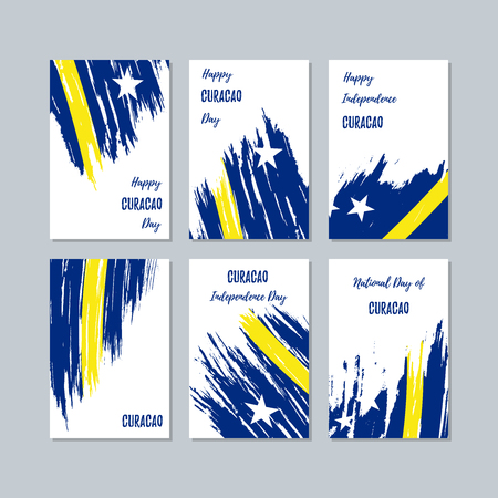 Curacao Patriotic greeting cards.