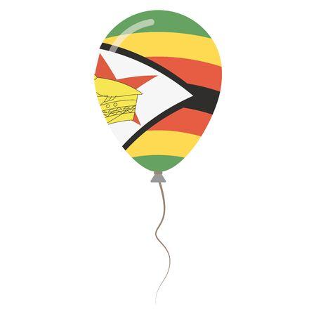 Republic of Zimbabwe national colors.