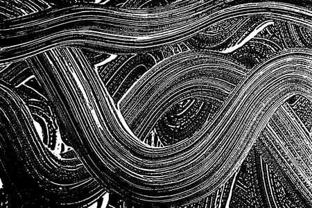 Grunge textura de jabón blanco y negro. Angustia blanco y negro áspero rastro fondo maravilloso. Ruido sucio rectángulo textura de espuma de grunge. Fondo de jabón artístico sucio. Ilustración del vector 96. Foto de archivo - 87979449