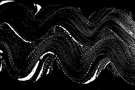 Grunge soap texture black and white. Distress black and white rough foam trace beauteous background. Noise dirty rectangle grunge foam texture. Dirty artistic soap background. Vector illustration 104. Illustration