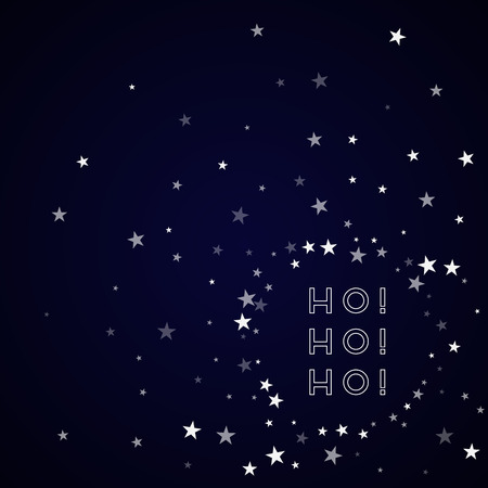 Ho-ho-ho greeting card. 向量圖像