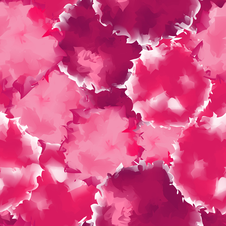 Pink seamless watercolor texture background. Lovely abstract pink seamless watercolor texture pattern. Expressive messy vector illustration.