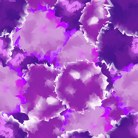 Purple seamless watercolor texture background. Comely abstract purple seamless watercolor texture pattern. Expressive messy vector illustration. Illustration