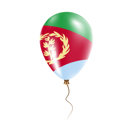 Eritrea balloon flag.