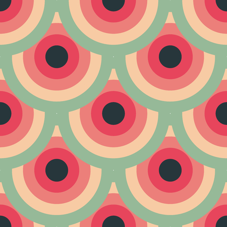 Circles pattern abstract design.