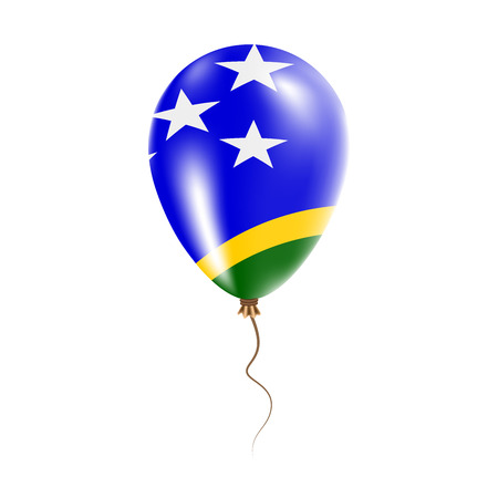 Solomon Islands balloon with flag