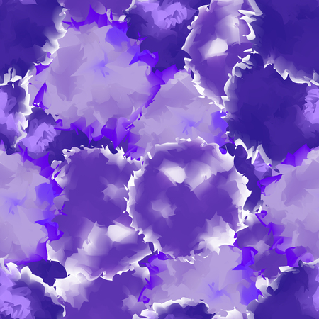 Deep purple seamless watercolor texture background. Illustration