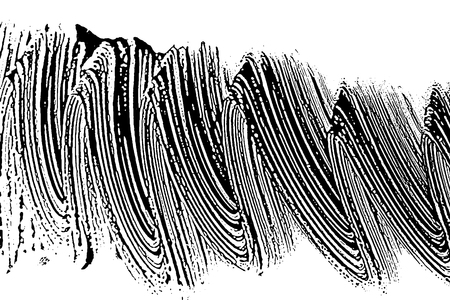 Grunge soap texture black and white invert. Distress black and white rough foam trace overwhelming background.