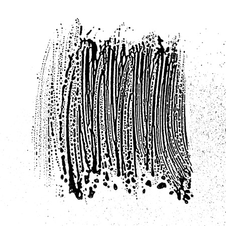 Grunge soap texture black and white invert. Distress black and white rough foam trace alluring background. Noise dirty rectangle grunge foam texture. Dirty artistic soap background.