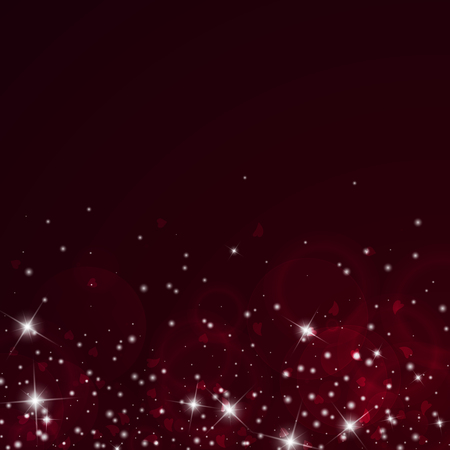 Scatter bottom gradient on wine red background.  イラスト・ベクター素材