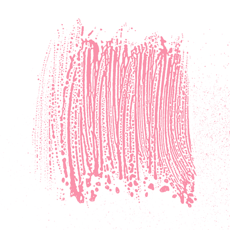 Natural soap texture. Alluring bright pink foam trace background  Vector illustration. 일러스트