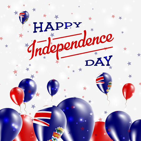 Cayman Islands Independence Day Patriotic Design vector illustration