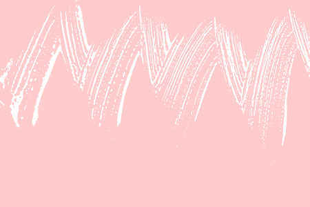 Natural soap texture. Admirable millenial pink foam trace background. Artistic overwhelming soap suds. Cleanliness, cleanness, purity concept. Vector illustration.