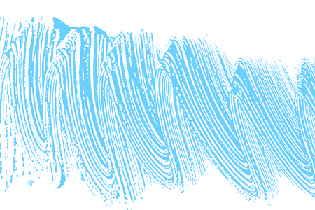 Natural soap texture. Alluring light blue foam trace background. Artistic gorgeous soap suds. Cleanliness, cleanness, purity concept. Vector illustration.