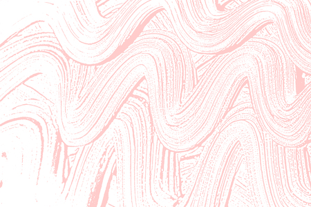 Natural soap texture. Alluring millenial pink foam trace background. Artistic fair soap suds. Cleanliness, cleanness, purity concept. Vector illustration.