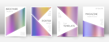Modern favorable template for cover template design