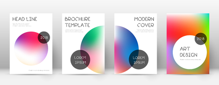 Trendy alluring template for Brochure