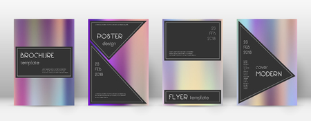 Flyer layout. Black great template for Brochure, Annual Report, Magazine, Poster, Corporate Presentation, Portfolio, Flyer. Actual color gradients cover page. Stock fotó - 100847283