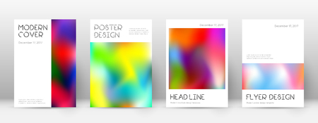Flyer layout. Minimal excellent template for Brochure, Annual Report, Magazine, Poster, Corporate Presentation, Portfolio, Flyer. Appealing colorful cover page.