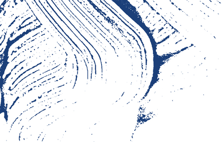 Grunge texture. Distress indigo rough trace. Ecstatic background. Noise dirty grunge texture. Terrific artistic surface. Vector illustration. Illustration