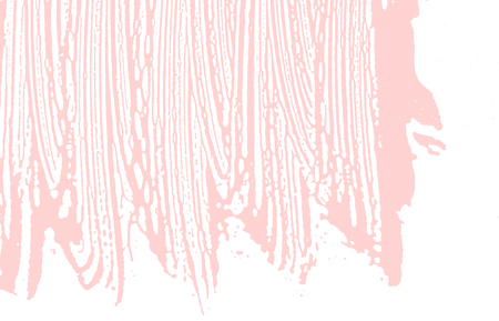 Grunge texture. Distress pink rough trace. Favorable background. Noise dirty grunge texture. Fine artistic surface. Vector illustration.