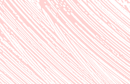 Grunge texture. Distress pink rough trace. Extraordinary background. Noise dirty grunge texture. Wonderful artistic surface. Vector illustration.