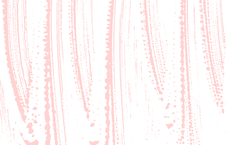 Grunge texture. Distress pink rough trace. Extraordinary background. Noise dirty grunge texture. Overwhelming artistic surface. Vector illustration. Illustration