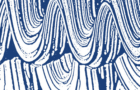 Grunge texture. Distress indigo rough trace. Delicate background. Noise dirty grunge texture. Terrific artistic surface. Vector illustration.