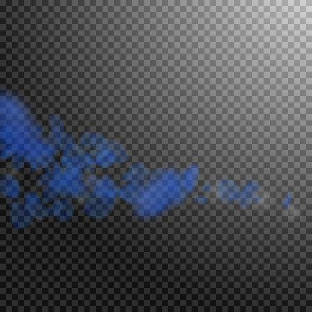 Dark blue flower petals falling down. Sublime romantic flowers comet. Flying petal on transparent square background. Love, romance concept. Actual wedding invitation.