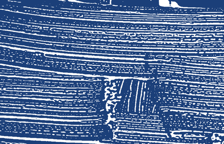 Grunge texture. Distress indigo rough trace. Extra background. Noise dirty grunge texture. Pleasant artistic surface. Vector illustration.