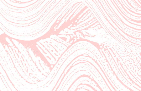 Grunge texture. Distress pink rough trace. Fascinating background. Noise dirty grunge texture. Glamorous artistic surface. Vector illustration.