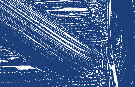 Grunge texture. Distress indigo rough trace. Excellent background. Noise dirty grunge texture. Radiant artistic surface. Vector illustration.