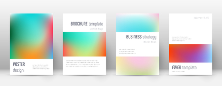Flyer layout. Minimalistic astonishing template for Brochure, Annual Report, Magazine, Poster, Corporate Presentation, Portfolio, Flyer. Artistic bright cover page.
