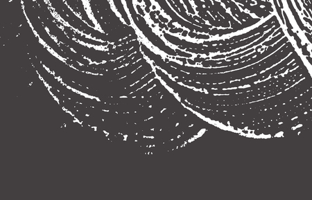 Grunge texture. Distress black grey rough trace. Artistic background. Noise dirty grunge texture. Tempting artistic surface. Vector illustration.