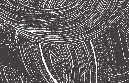 Grunge texture. Distress black grey rough trace. Bewitching background. Noise dirty grunge texture. Bizarre artistic surface. Vector illustration. Illustration