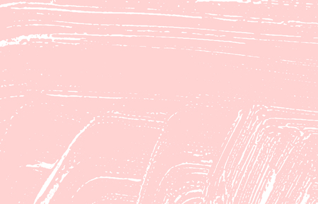 Grunge texture. Distress pink rough trace. Glamorous background. Noise dirty grunge texture. Dazzling artistic surface. Vector illustration.
