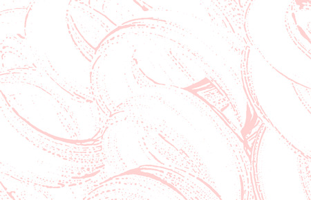 Grunge texture. Distress pink rough trace. Fascinating background. Noise dirty grunge texture. Classy artistic surface. Vector illustration.  イラスト・ベクター素材
