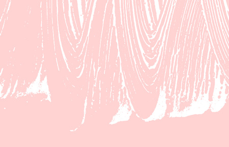 Grunge texture. Distress pink rough trace. Fresh background. Noise dirty grunge texture. Pleasing artistic surface. Vector illustration.