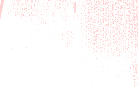 Grunge texture. Distress pink rough trace. Fetching background. Noise dirty grunge texture. Modern artistic surface. Vector illustration.