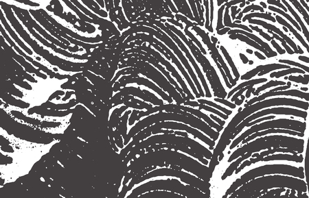 Grunge texture. Distress black grey rough trace. Authentic background. Noise dirty grunge texture. Overwhelming artistic surface. Vector illustration. Illusztráció