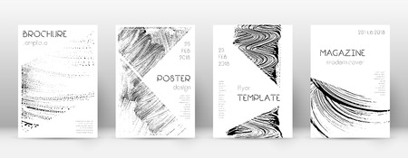 Cover page design template. Triangle brochure layout. Awesome trendy abstract cover page. Soap invert grunge texture background. Alive poster.