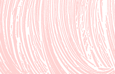 Grunge texture. Distress pink rough trace. Flawless background. Noise dirty grunge texture. Classic artistic surface. Vector illustration. Illustration