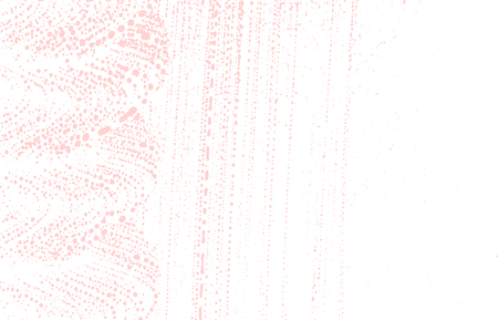 Grunge texture. Distress pink rough trace. Favorable background. Noise dirty grunge texture. Alluring artistic surface. Vector illustration. Illustration