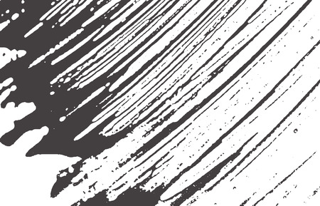 Grunge texture. Distress black grey rough trace. Actual background. Noise dirty grunge texture. Dramatic artistic surface. Vector illustration. Векторная Иллюстрация